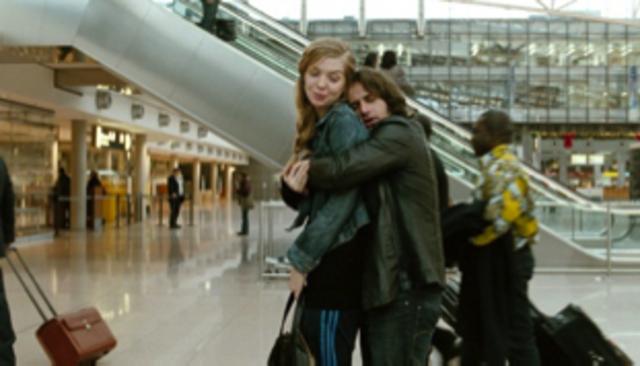 Nadine reist in Ausland