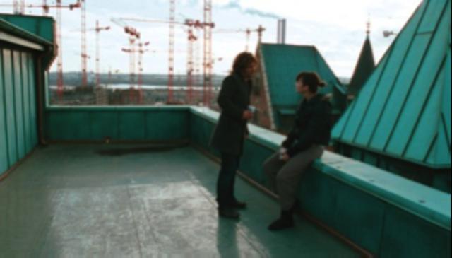 An das Dach