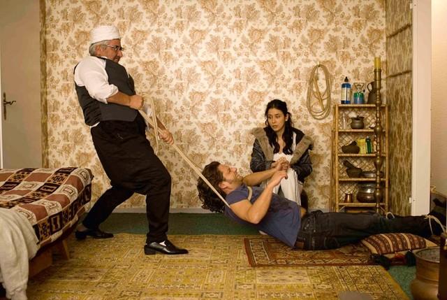 Der türkischen Physiotherapeut