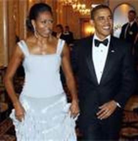 President Barack got married