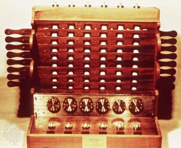 Wilhelm Sshickard/ calculadora mecánica