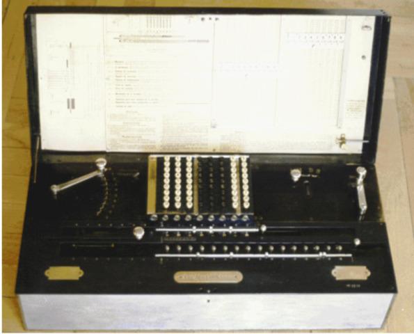 Otto Steiger/ 1a calculadora exitosa