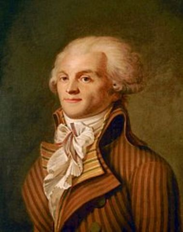 Robespierre Assumes Control