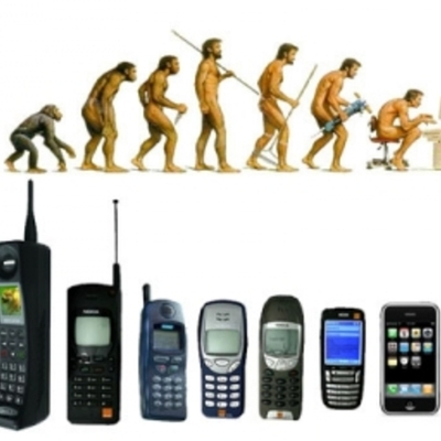 موبائل فون جي ارتقا timeline
