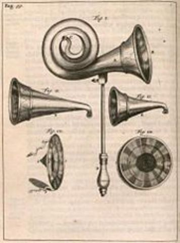 First Ear Trumpet developed and used