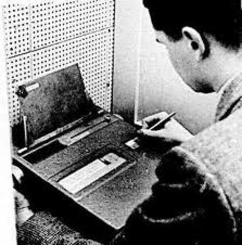 la primera maquina