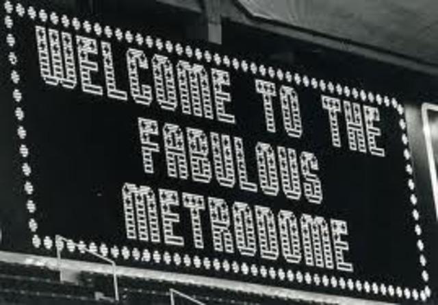 METRODOME OPENS