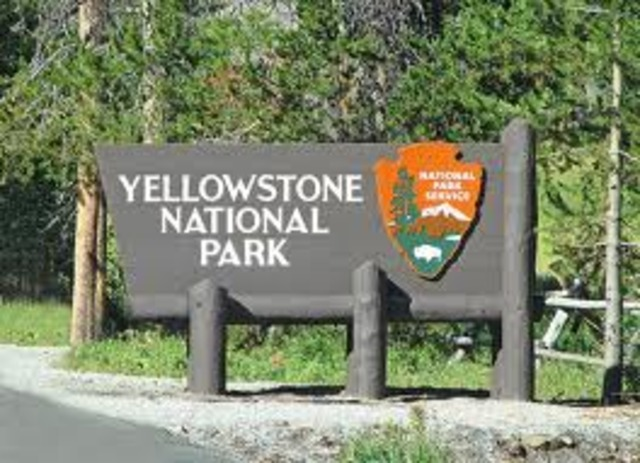 Yellowstone National Park founded