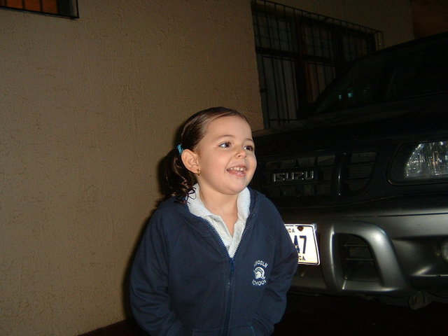 First day at lincoln school