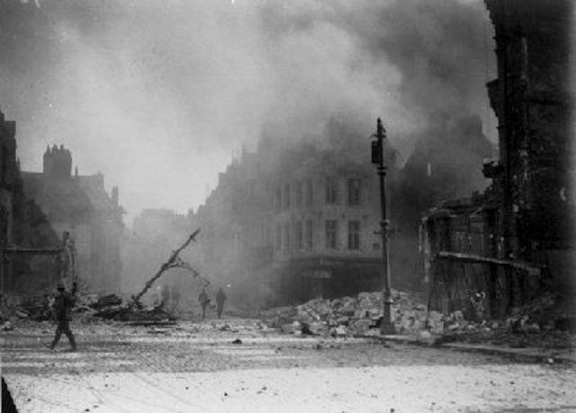 The Germans Withdrawal