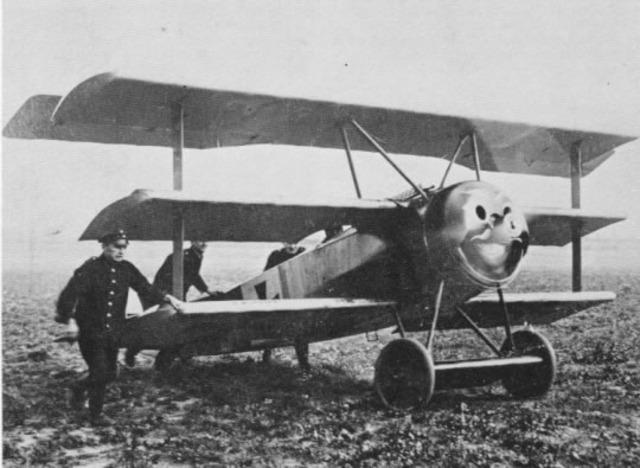 German Fokker DR.I