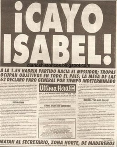 Golpe de estado en Argentina