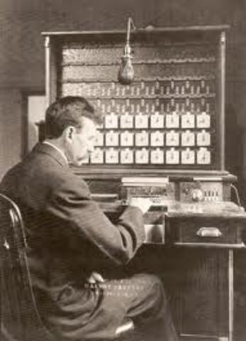 Tabulating Machine (Herman Hollerith)