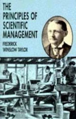 1920 Los principios de la administración científica de Taylor
