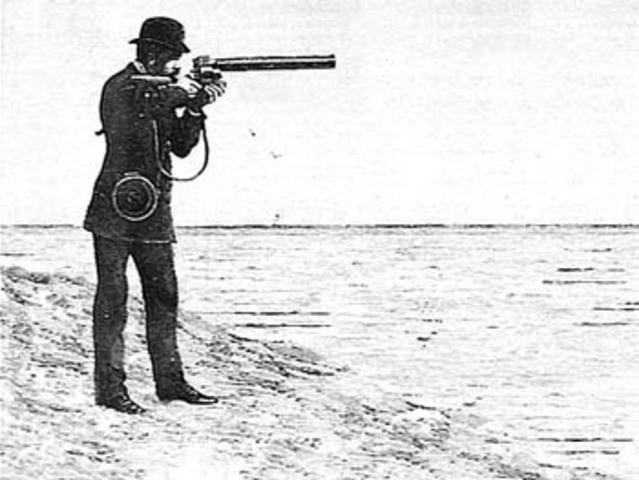 """Shotgun Camera"""