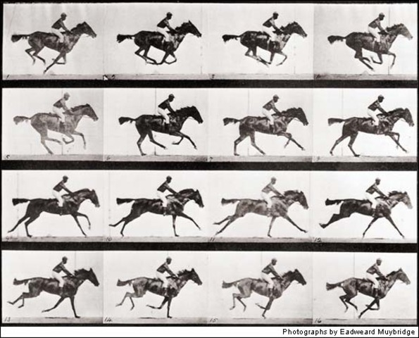 Eadweard Muybridge's motion photography