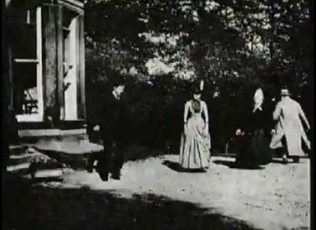 """Louis Le Prince's """"Roundhay Garden"""" scene"""