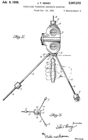 Gyroscopic Steadicam