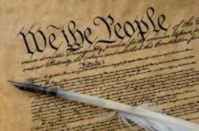 U.S. Constitution is Ratified