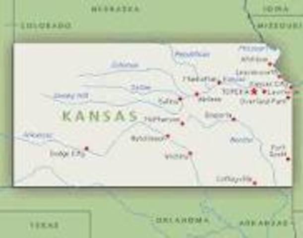 Kansas Becomes a Free State