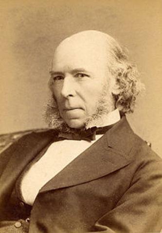 1859- Herbert Spencer