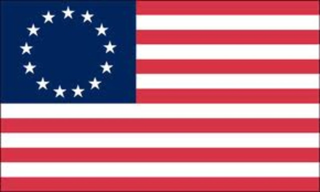 First American Flag Made