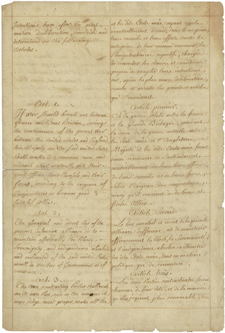 Treaty of Alliance between France and America