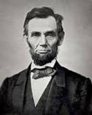 Abraham Lincoln Sworn in as 16th President
