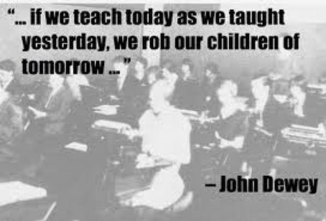 1890-1920 The Progressive Education Movement