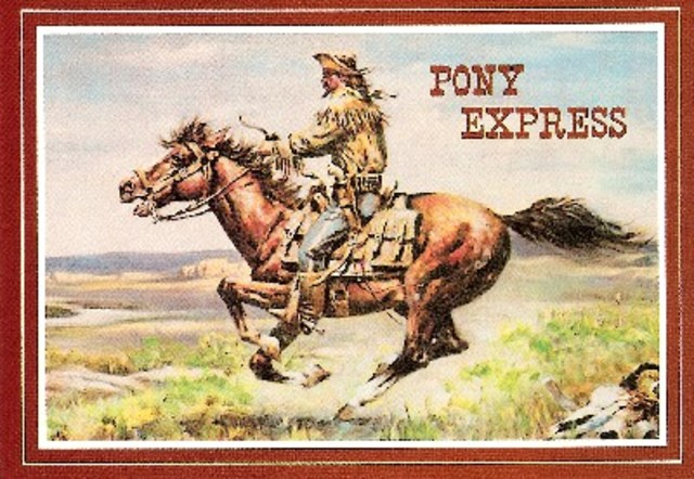Pony Express Invented
