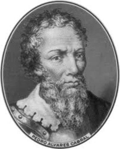 Cabral sailed to Brazil from Portugal
