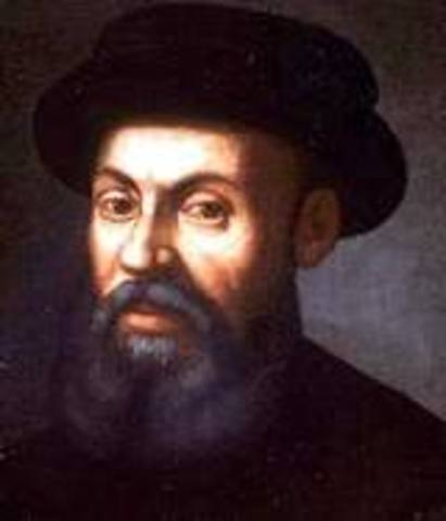 Magellan, first to circle the earth