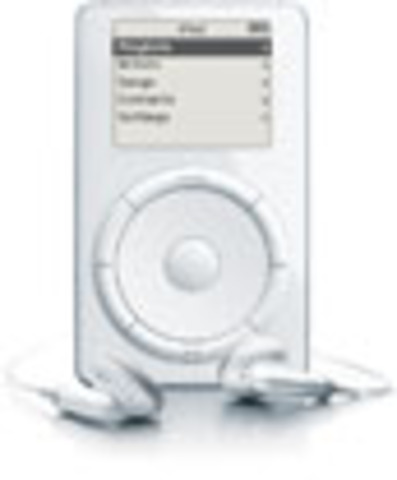 Apple introduces the first iPod