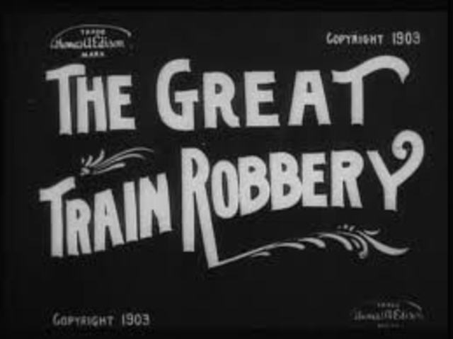 """Life of a Fireman"" and ""The great Train Robbery."""