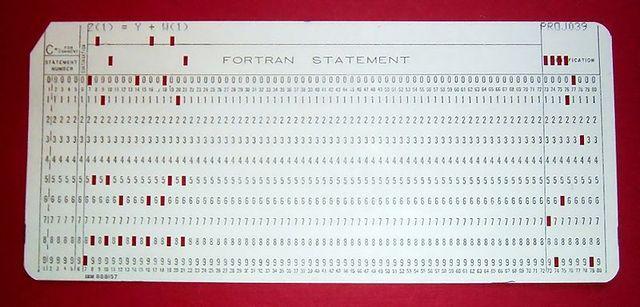 El primer lenguaje de programación de propósito general de alto-nivel, FORTRAN