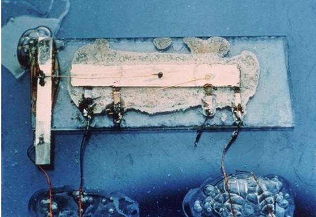 El primer circuito integrado fue desarrollado en 1959