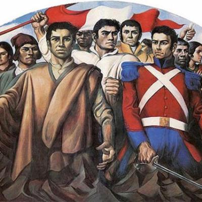 Corriente Libertadora del sur San Martin y el protectorado  timeline