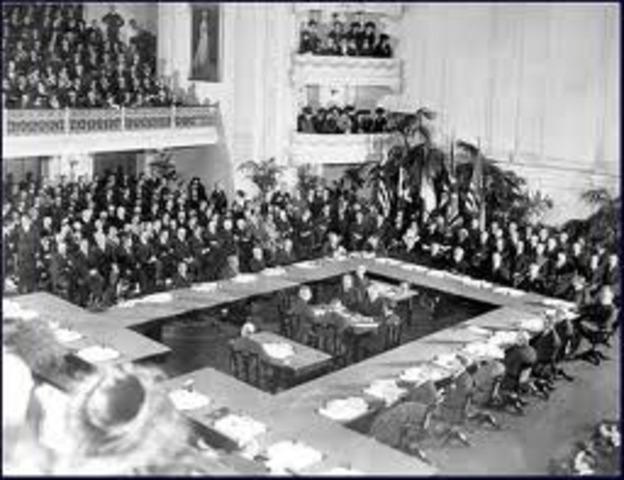 The meeting in Versailles