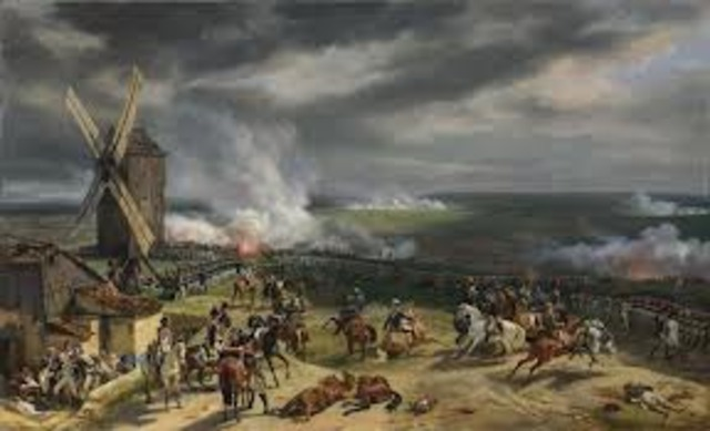 The battle of Valmy