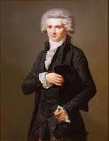 Macimilien Robespierre gains power