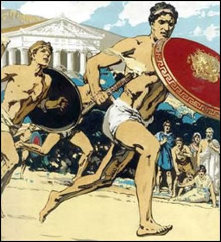 776 BCE Aincent Greece
