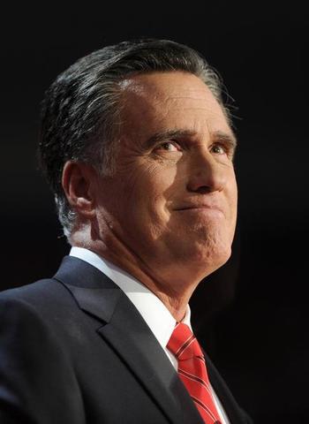 Romney holder takketale