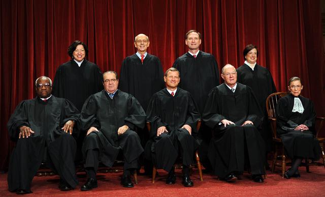 Vote of The US Supreme Court