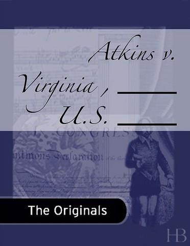 Atkins V Virginia