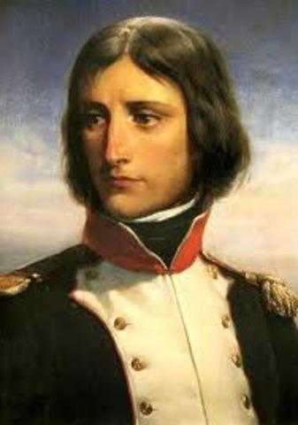 Napoleon, a lieutenant in the artillery
