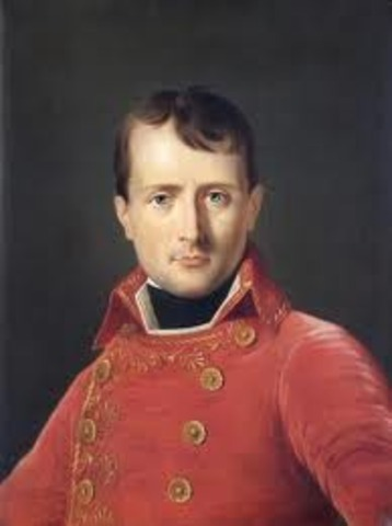 Napoleon lead the French Army!