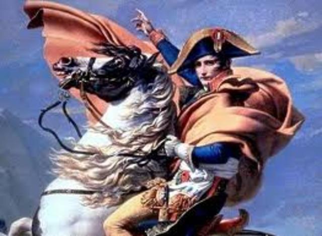 UK, Austria and Russia against Napoleon