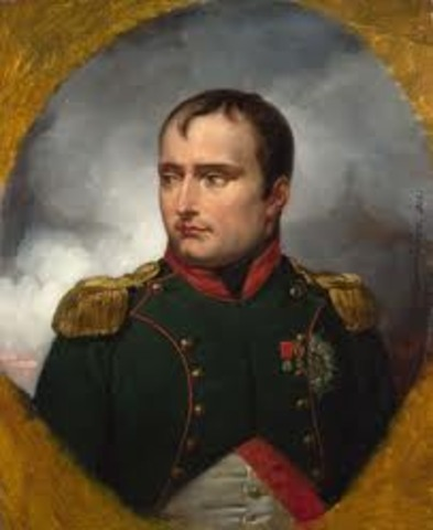 Napoleon as emperor!