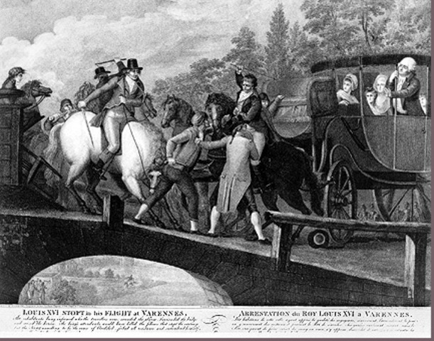Louis XVI tries to escape