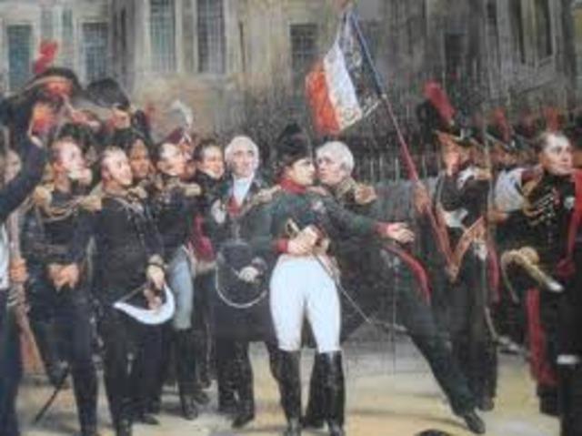 Napoleon returns to France!